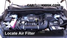 2015 Lexus NX200t 2.0L 4 Cyl. Turbo Air Filter (Engine)