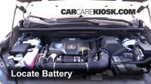 2015 Lexus NX200t 2.0L 4 Cyl. Turbo Battery