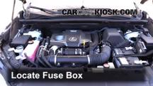 2015 Lexus NX200t 2.0L 4 Cyl. Turbo Fuse (Engine)