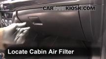 2015 Mazda 6 Sport 2.5L 4 Cyl. Sedan (4 Door) Filtro de aire (interior)