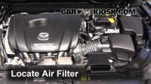 2015 Mazda 6 Sport 2.5L 4 Cyl. Sedan (4 Door) Filtro de aire (motor)