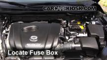 2015 Mazda 6 Sport 2.5L 4 Cyl. Sedan (4 Door) Fusible (motor)