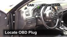 2015 Mazda 6 Sport 2.5L 4 Cyl. Sedan (4 Door) Compruebe la luz del motor