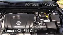 2015 Mazda 6 Sport 2.5L 4 Cyl. Sedan (4 Door) Aceite