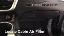 2015 Nissan Murano Platinum 3.5L V6 Filtro de aire (interior)