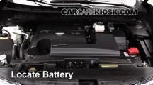 2015 Nissan Murano Platinum 3.5L V6 Battery