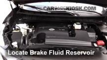 2015 Nissan Murano Platinum 3.5L V6 Brake Fluid