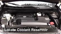 2015 Nissan Murano Platinum 3.5L V6 Pérdidas de líquido