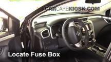 2015 Nissan Murano Platinum 3.5L V6 Fusible (interior)