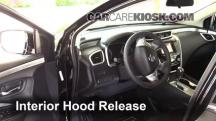 2015 Nissan Murano Platinum 3.5L V6 Capó
