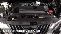 2015 Nissan Murano Platinum 3.5L V6 Transmission Fluid