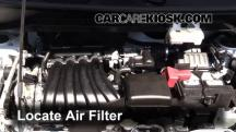 2015 Nissan NV200 SV 2.0L 4 Cyl. Filtro de aire (motor)