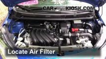 2015 Nissan Versa Note S 1.6L 4 Cyl. Filtro de aire (motor)