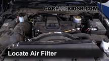 2015 Ram 2500 Laramie 6.7L 6 Cyl. Turbo Diesel Crew Cab Pickup (4 Door) Filtro de aire (motor)