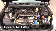 2015 Subaru Legacy 2.5i Premium 2.5L 4 Cyl. Air Filter (Engine)