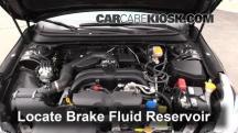 2015 Subaru Legacy 2.5i Premium 2.5L 4 Cyl. Brake Fluid