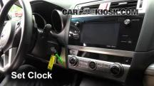 2015 Subaru Legacy 2.5i Premium 2.5L 4 Cyl. Clock