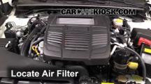 2015 Subaru WRX Limited 2.0L 4 Cyl. Turbo Air Filter (Engine)