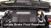 2015 Subaru WRX Limited 2.0L 4 Cyl. Turbo Brake Fluid