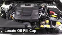 2015 Subaru WRX Limited 2.0L 4 Cyl. Turbo Aceite