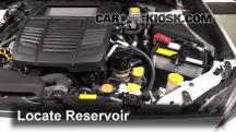2015 Subaru WRX Limited 2.0L 4 Cyl. Turbo Windshield Washer Fluid
