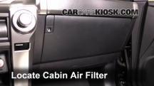 2015 Toyota 4Runner SR5 4.0L V6 Filtro de aire (interior)
