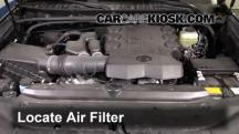 2015 Toyota 4Runner SR5 4.0L V6 Filtro de aire (motor)