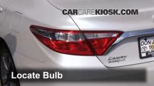 2015 Toyota Camry XLE 2.5L 4 Cyl. Lights