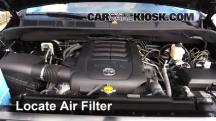 2015 Toyota Tundra Platinum 5.7L V8 Air Filter (Engine)