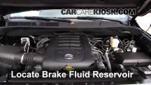 2015 Toyota Tundra Platinum 5.7L V8 Líquido de frenos