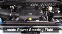2015 Toyota Tundra Platinum 5.7L V8 Power Steering Fluid