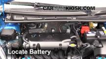 2015 Toyota Yaris LE 1.5L 4 Cyl. Hatchback (4 Door) Battery