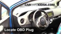 2015 Toyota Yaris LE 1.5L 4 Cyl. Hatchback (4 Door) Compruebe la luz del motor