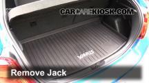 2015 Toyota Yaris LE 1.5L 4 Cyl. Hatchback (4 Door) Jack Up Car