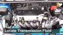 2015 Toyota Yaris LE 1.5L 4 Cyl. Hatchback (4 Door) Transmission Fluid