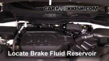 2016 Acura MDX SH-AWD 3.5L V6 Brake Fluid