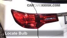 2016 Acura MDX SH-AWD 3.5L V6 Lights