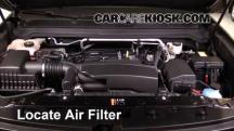 2016 Chevrolet Colorado LT 2.5L 4 Cyl. Crew Cab Pickup Filtro de aire (motor)