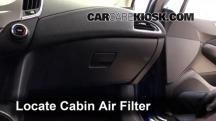 2016 Chevrolet Cruze LT 1.4L 4 Cyl. Turbo Filtro de aire (interior)