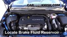 2016 Chevrolet Cruze LT 1.4L 4 Cyl. Turbo Líquido de frenos