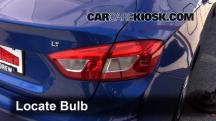 2016 Chevrolet Cruze LT 1.4L 4 Cyl. Turbo Luces