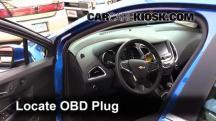 2016 Chevrolet Cruze LT 1.4L 4 Cyl. Turbo Compruebe la luz del motor