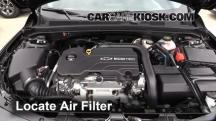 2016 Chevrolet Malibu LT 1.5L 4 Cyl. Turbo Air Filter (Engine)