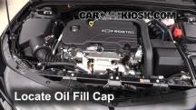 2016 Chevrolet Malibu LT 1.5L 4 Cyl. Turbo Oil