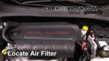 2016 Fiat 500X Easy 2.4L 4 Cyl. Air Filter (Engine)