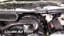 2016 Ford Transit-350 HD XLT 3.7L V6 FlexFuel Filtro de aire (motor)