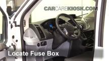 2016 Ford Transit-350 HD XLT 3.7L V6 FlexFuel Fusible (interior)