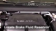 2016 GMC Canyon SLT 3.6L V6 Crew Cab Pickup Líquido de frenos