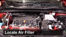 2016 Honda HR-V EX 1.8L 4 Cyl. Filtro de aire (motor)