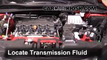 2016 Honda HR-V EX 1.8L 4 Cyl. Líquido de transmisión